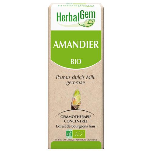 Amandelboom bio, prunus dulcis Mill, 15 ml. merk HerbalGem