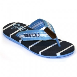 Trentino summer slipper Garda - Light Blue