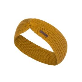 Knit Factory hoofdband Joy - Oker