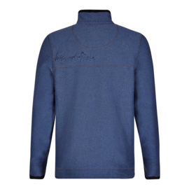 Weird Fish Heren Sweater Parkway Vintage Blue