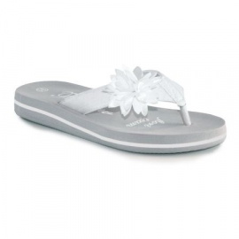 Trentino summer slipper Lasino - White