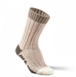 Alpaca sokken ABS Bruin