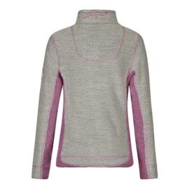 Weird Fish Dames sweatshirt Emmie Ecru/Roze