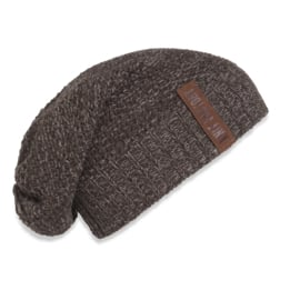 Knit Factory beanie Coco - Bruin/Taupe