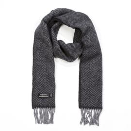 Cashmere Merino Sjaal Mix Grey