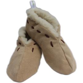 Woolwarmers Spaanse sloffen -  Beige