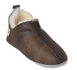 Shepherd pantoffel Henrik Oiled Antique