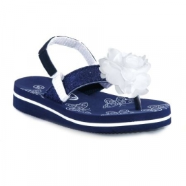 Trentino summer slipper Viola - Navy
