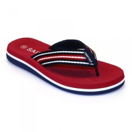 Trentino summer slipper Taranto - Red