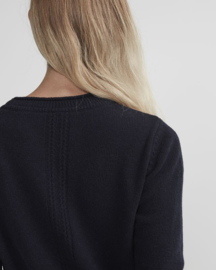 Holebrook woolen dress Lotta - Grey Melange