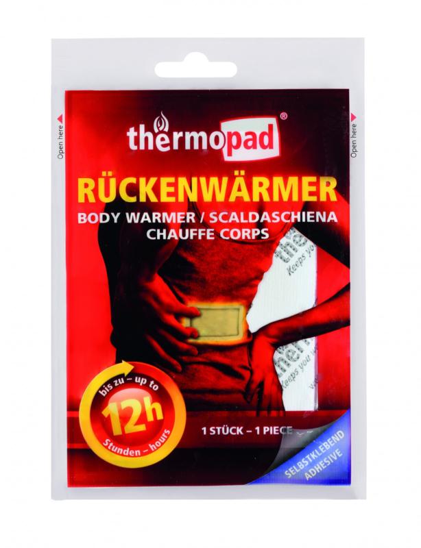 Thermopad rugwarmer