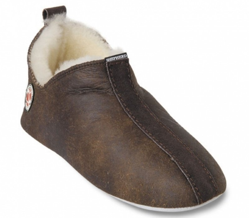 Shepherd pantoffel Lina - Oiled Antique