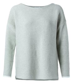 Mixed rib stitch sweater