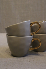 MINI CUP BEIGE SET VAN 4