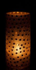 VAAS BOL/PAREL GLAS GOUD (SMALL)