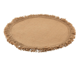 PLACEMAT JUTE NATUREL