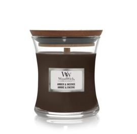 Woodwick Amber & Incense [klein]