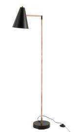 Vloerlamp Zwart/Goud
