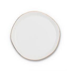 GOODMORNING PLATE WHITE