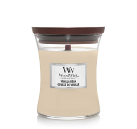 Woodwick Vanilla Bean [middel]