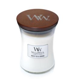 Woodwick White Tea and Jasmine [middel]