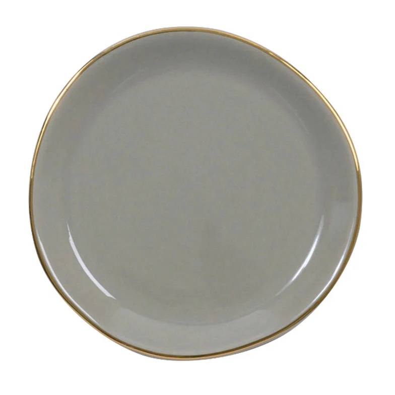 GOODMORNING PLATE SMALL TAUPE