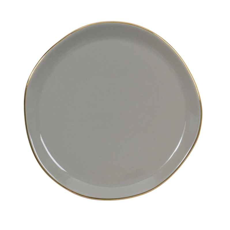 GOODMORNING PLATE TAUPE