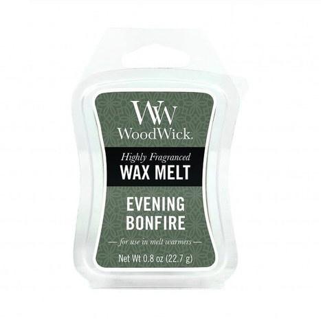 Woodwick Wax Melt Evening Bonfire