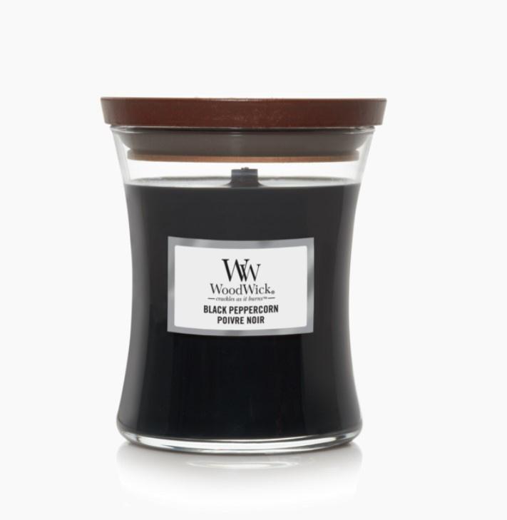 Woodwick Black Peppercorn [middel]