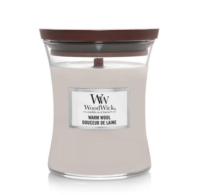 Woodwick Warm Wool [middel]