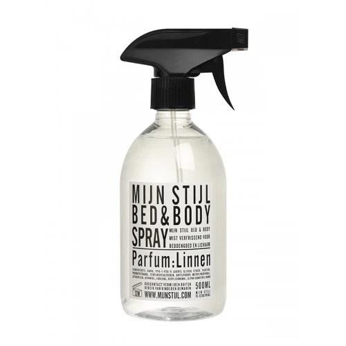 Bed en Body spray Linnen