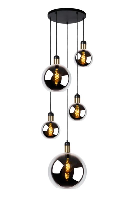 Hanglampen 5 Glazen Bollen