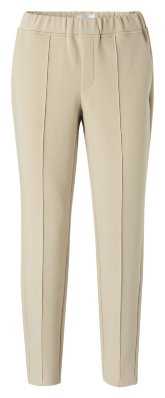 Jersey tailored trousers