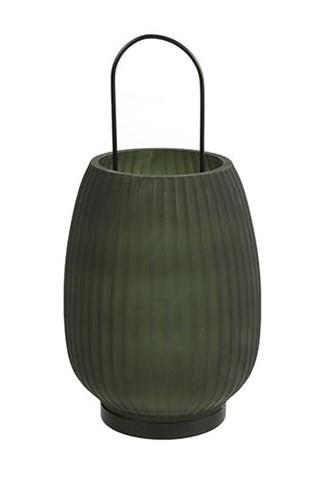 Windlicht Groen Glas