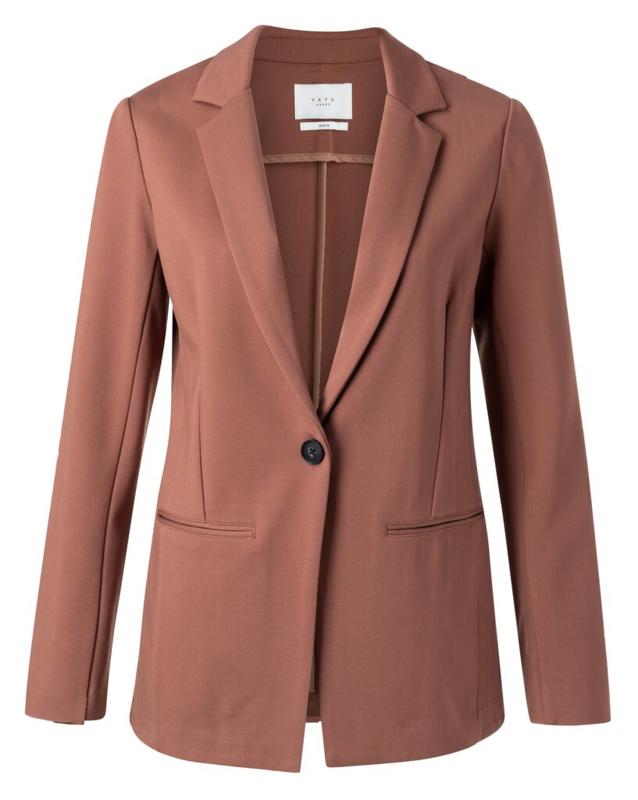 Jersey tailored blazer