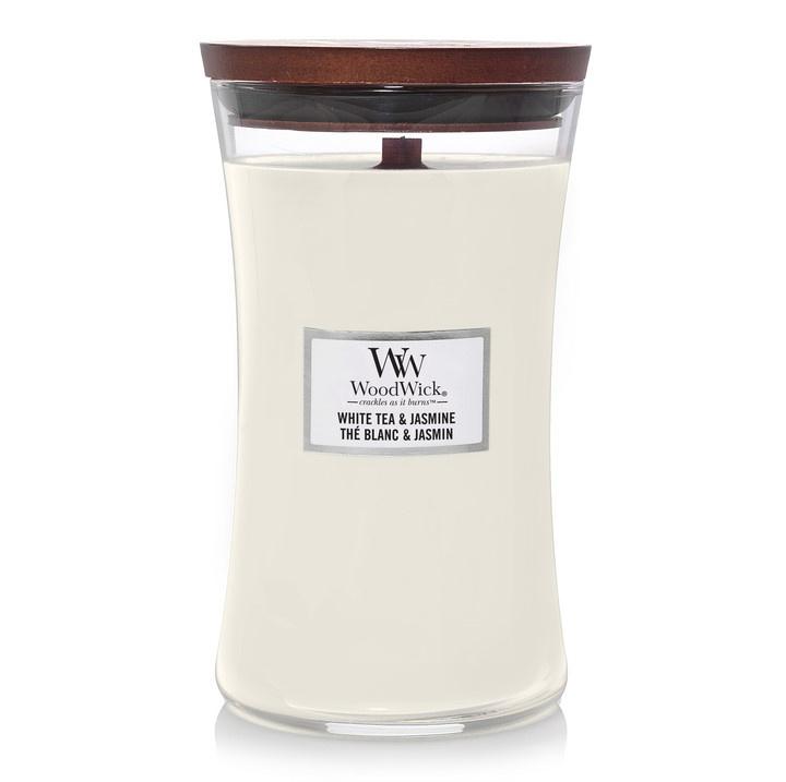 Woodwick White Tea and Jasmine [groot]