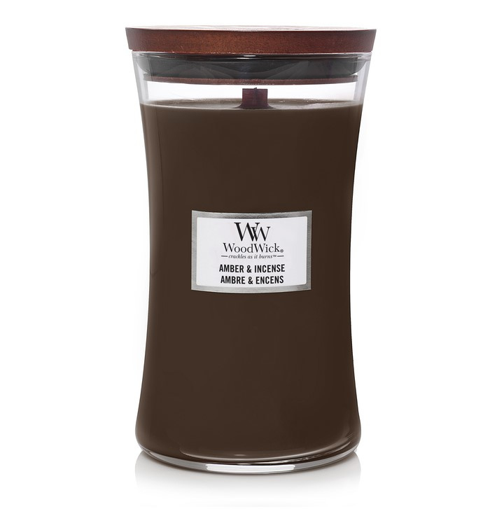 Woodwick Amber & Incense [groot]