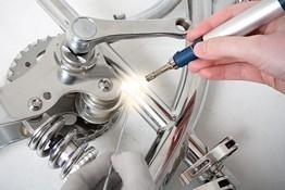 Laser tools aluminium reparatie set