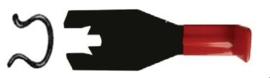 Midlock omegaveer / raamslinger (de)montage schuif