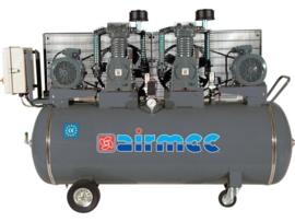 Airmec CFT555 tandem industrie compressor