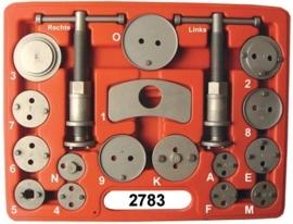 Remzuigertrekker en terugstel-set Midlock 2783