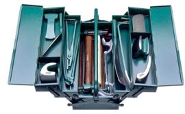 Plaatwerkset 17 delig + kist Stahlwille