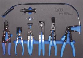 BGS foam module 3/3: Speciale tangen assorti 6 delig