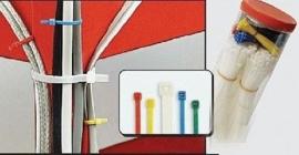 Mannesmann tiewrap assortiment, kleur, 300X
