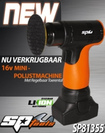 Accu spotrepair / mini polijster 16V 2.0Ah SP81355