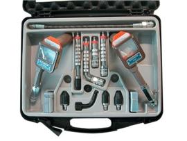 Iveka/motometer compressietester set Diesel en Benz.