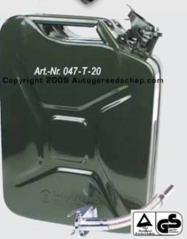Leger jerrycan 20 Liter UN