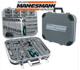 Mannesmann Greenline doppenset 232dlg in koffer