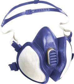 Stof masker - Stoffilter en gasmasker 3M