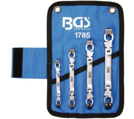 BGS remleiding sleutelset 6-kant (ratelend)